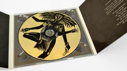 Диджипак CD формата, 6 полос, на 1 диск.