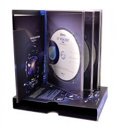 Картонная упаковка на 4 диска со слипкейсом
