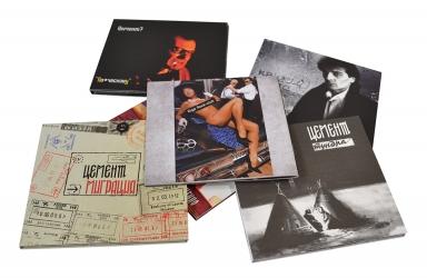 Бокс-сет 5ти дисков в диджипаках + буклет