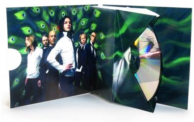 Jakebox (ДжейкБокс) на 1 CD с брошюрой, вид изнутри
