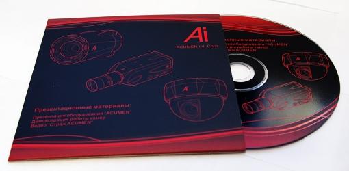 Конверт для CD без клапана