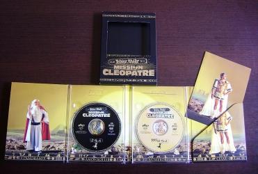 DVD диджипак 8 полос на 2 диска, крепление дисков в трей