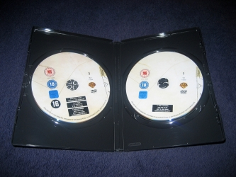 DVD amaray на 2 диска, разворот изнутри