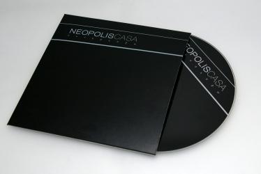Карман под CD лицевая сторона, диск вкладывается в конверт.