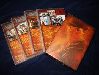 DVD амарей со слипкейсом. Комплект на 4 диска. Оборотная сторона.