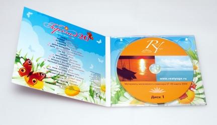 Дигипак CD для одного диска