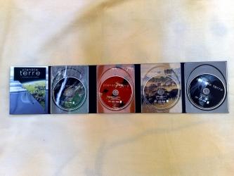 Digipak на 4 диска и карман для буклета, вид на разворот.