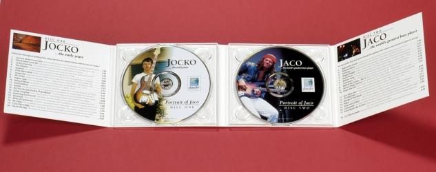 Дигипак на 2 CD диска, вид на разворот.