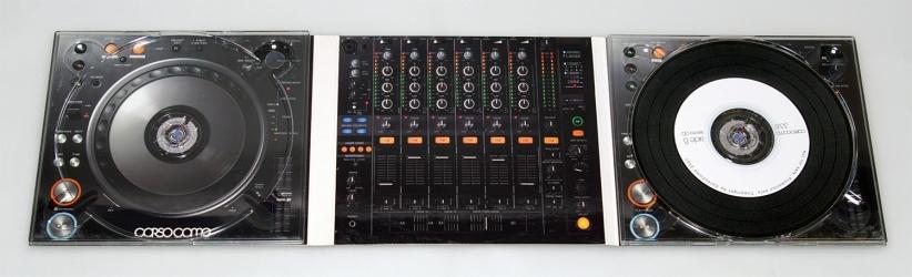 Упаковка для музыкальных дисков - digi pack