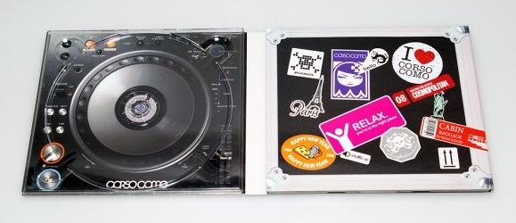 Креативная упаковка диджипак на два диска