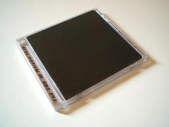Джевел бокс на 1 CD диск, лицевая сторона.
