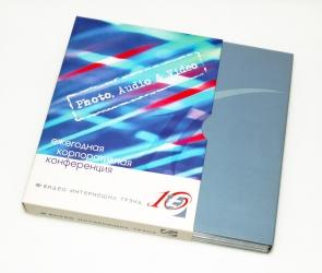 Упаковка Digipak на 4 диска и слипкейс