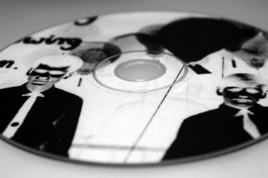 Печать по диску шелкографией, растр.