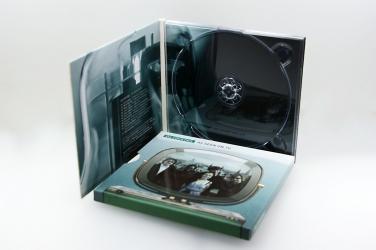Digipak CD для 1 диска, вид на разворот.