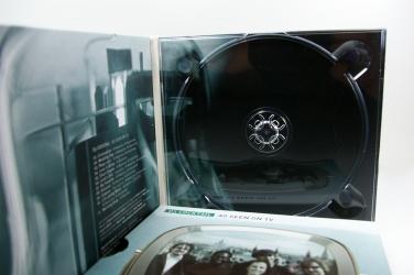 Диджипак СД для 1 диска, вид на разворот.