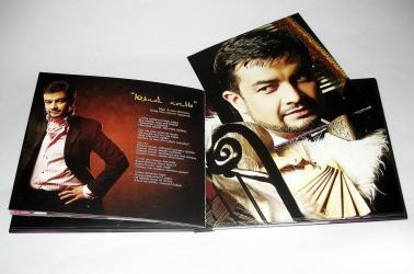 Digibook CD формата на 1 диск с треем и брошюрой