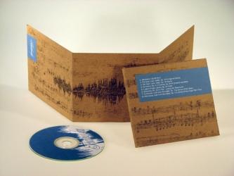 Дигипак на 1 CD диск.