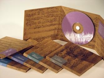 Digipack CD, вид на разворот.
