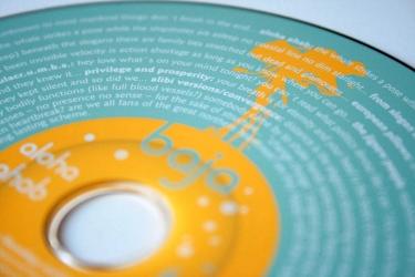 Офсетная печать по CD диску.