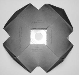 Упаковка для дисков с оригинальным дизайном