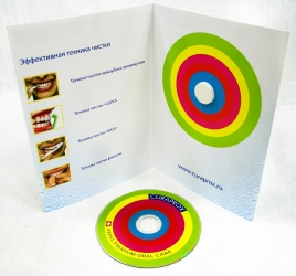 Комплект: брошюра с креплением mini-DVD на спайдер