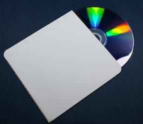 Конверт для CD без клапана - оборотная сторона