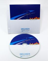 Конверт для CD с клапаном + диск со стикером.
