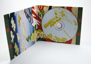 Digipack CD 4 полосы на 1 диск со спайдером