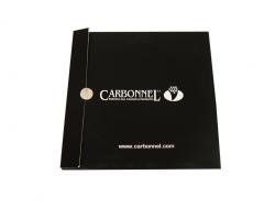 Диджипак CD формата для 1 диска и визитной карточки. Carbonnel.