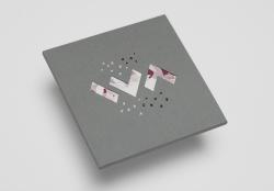 Конверт-оригами для 1 CD диска в слипкейсе. IVA.