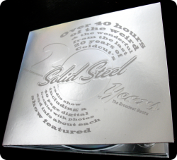 Дигипак для 1 CD диска. Solid steel.
