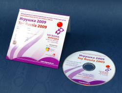 Комплект - мини cd диск и картонный конверт