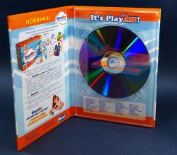 Хардбек DVD формата на 1 диск