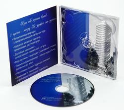 Диджипак для mini-CD диска с треем.