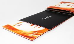 Диджипак для СД диска с двумя карманами