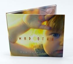 Диджипак CD формата для 1 диска с карманом под постер. Мир огня.