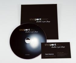 Конверт с клапаном под DVD из дизайнерской бумаги