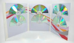 Digifile на 6 дисков с клапаном на липучке