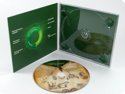 Диджипак CD формата для 1 диска. Ostec.