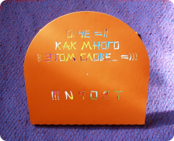 Креативный диджипак CD формата, 8 полос, на 3 диска. Подарок Че.