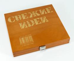Упаковка из дерева для CD или DVD диска. Свежие идеи.