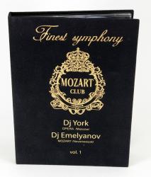 Хардбэк DVD формата для 2 дисков. Mozart Club.