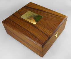 Деревянная шкатулка для DVD диска. Ветераны ВКР.