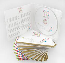 Подарочный диджипак CD формата для 1 диска. Visavis