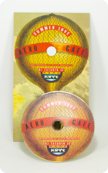 Нестандартная упаковка для клубного CD диска.