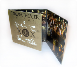Диджислив CD на 3 диска. Dream Theater.