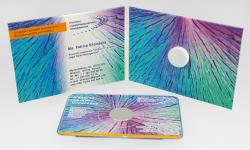 Диджипак для 1 CD визитки, 4 полосы. Legalriskmanagement.