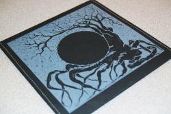 Конверт для 1 CD диска из дизайнерской бумаги, прошитый нитками.
