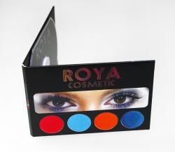 Диджипак для CD визитки. Roya Cosmetics