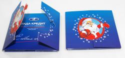 Диджипак CD формата со створками. Лада Кредит.